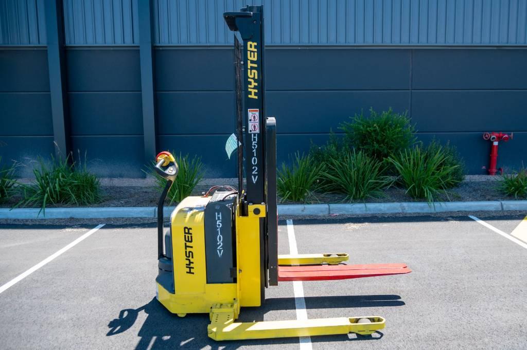 Hyster W25ZA2, Pedestrian stacker, Material Handling