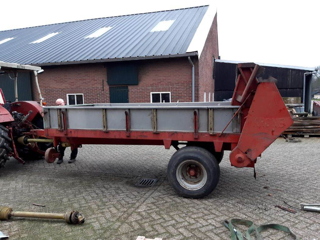Krone 3 t, Manure spreaders, Agriculture