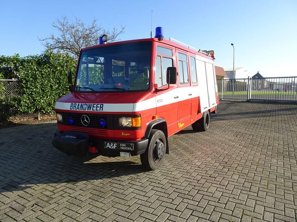 Mercedes Benz 814D Firetruck, Fire trucks, Transportation