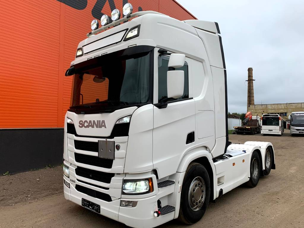 Scania R 500 Retarder, ADR, Without EGR, Conventional Trucks / Tractor Trucks, Trucks and Trailers