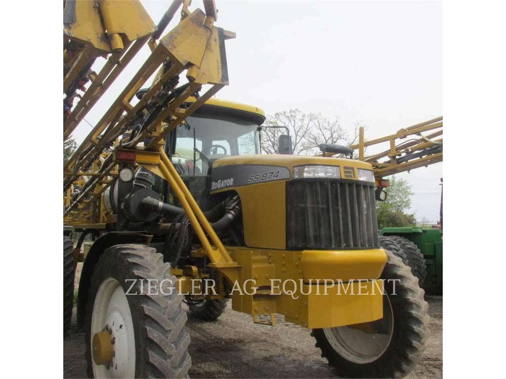 Ag-Chem SS874, pulverizador, Agricultura