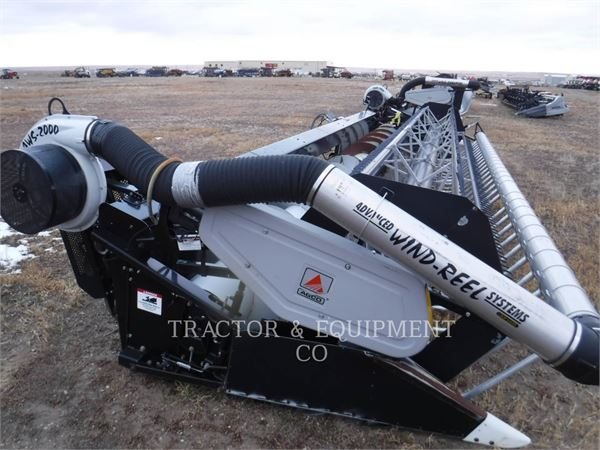 Agco 8000 FLEX HEADER、コンバイン・ハーベスター・ヘッド、農業