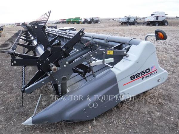 Agco 9250, Combine capete pentru culegatoare, Agricultură
