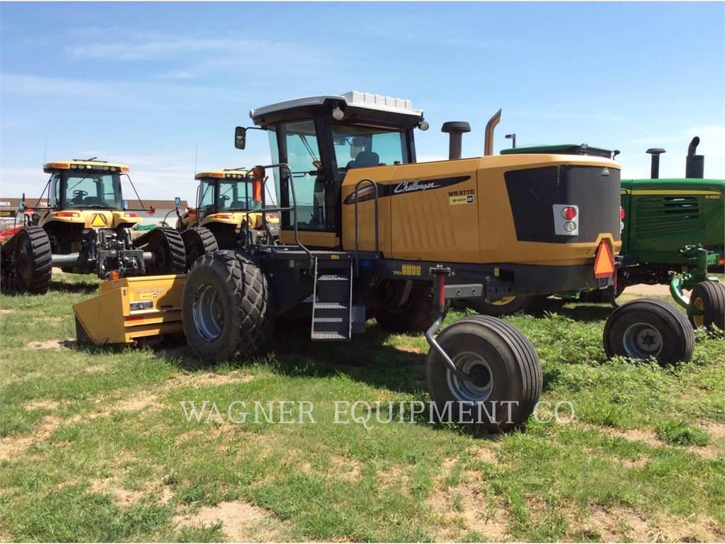 Agco WR9770, wyposażenie rolnicze do siana, Maszyny rolnicze