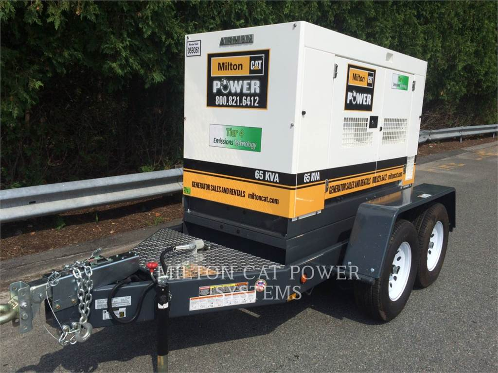 Airman PP65, Stationary Generator Sets, Construction