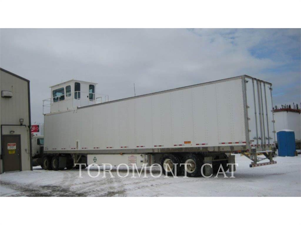 Allen POWER VAN, mobile generator sets, Construction