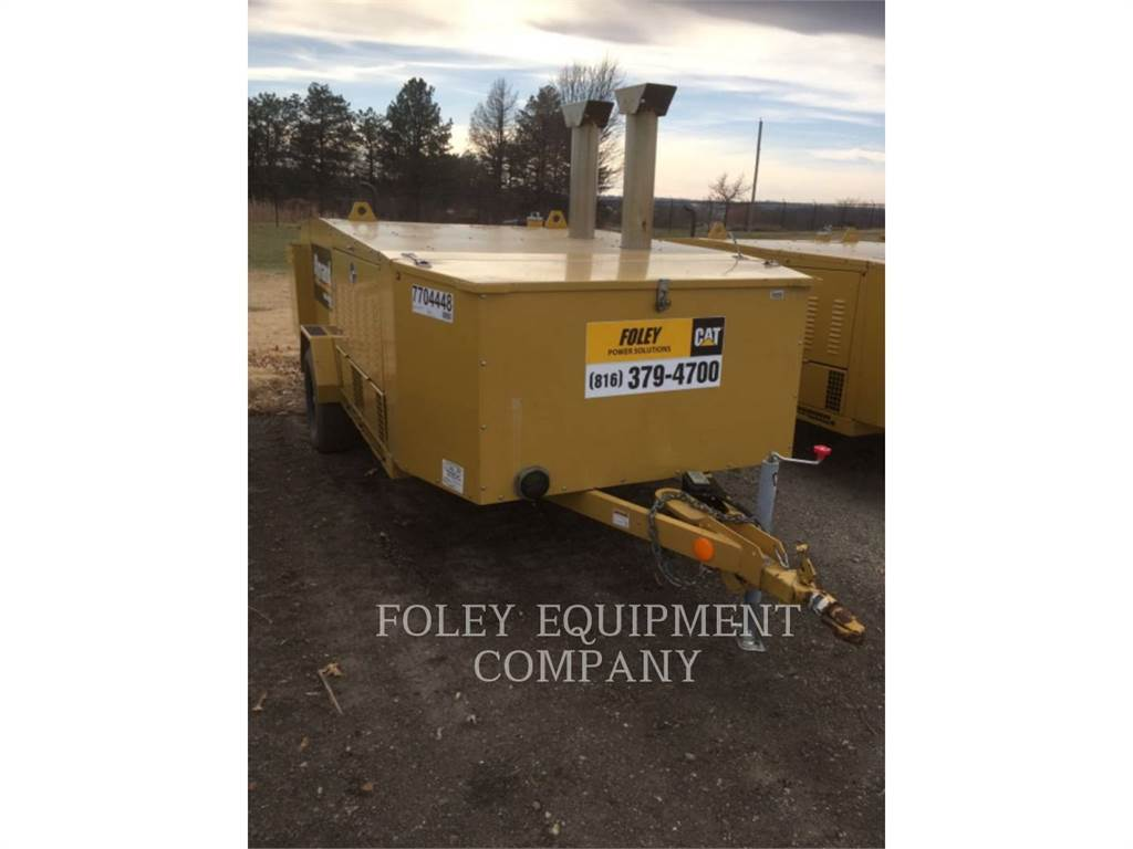 Allmand HEATD1MIQ, Used Ground Thawing Equipment, Construction