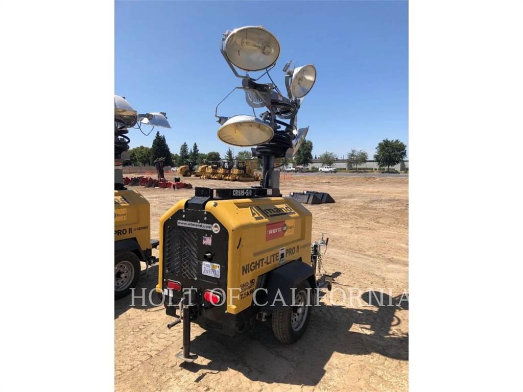 Allmand LIGHTTOWER, leichter turm, Bau-Und Bergbauausrüstung
