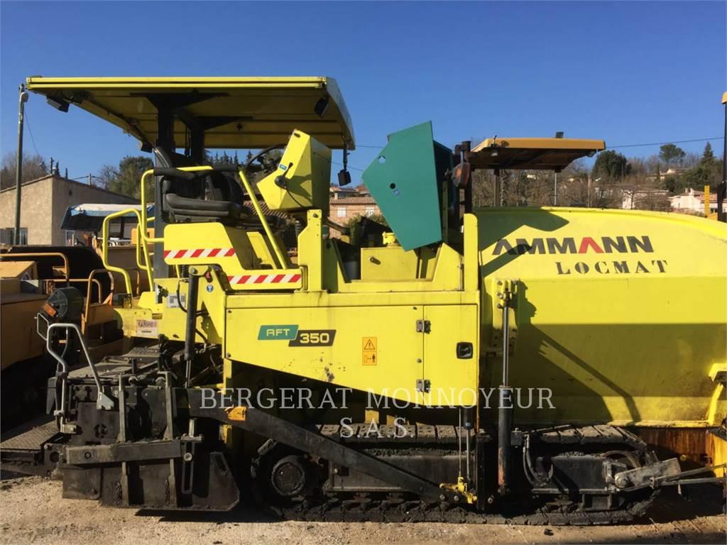 Ammann AFT350E, Asfaltadoras, Construcción