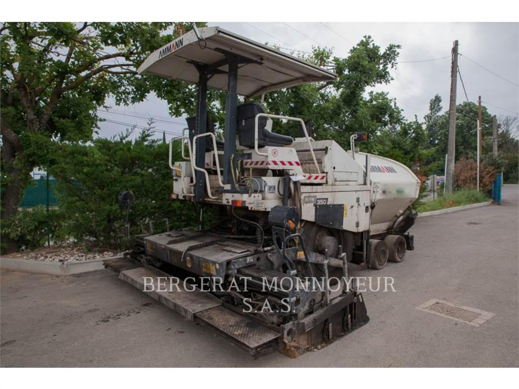 Ammann AFW350, Asphalt pavers, Construction