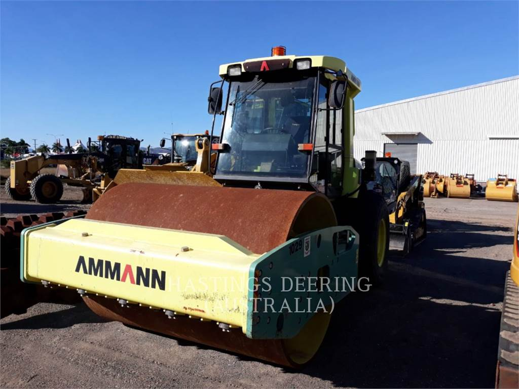 Ammann ASC170DT3, Walzenzüge, Bau-Und Bergbauausrüstung
