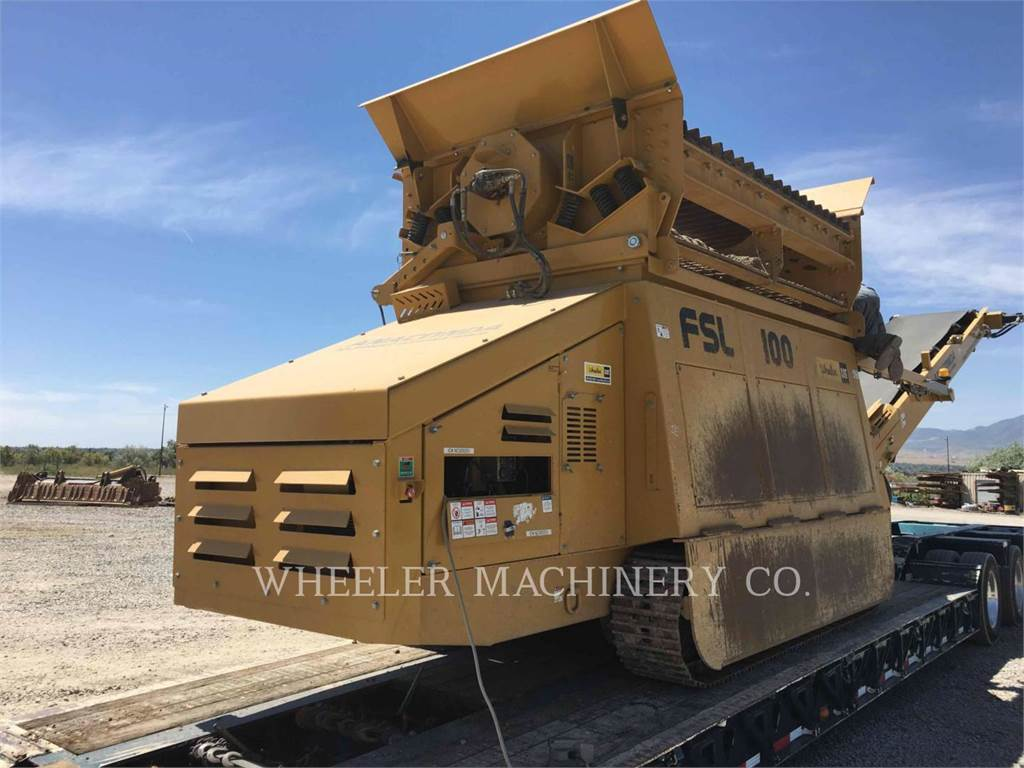 Anaconda FSL100, conveyors, Construction