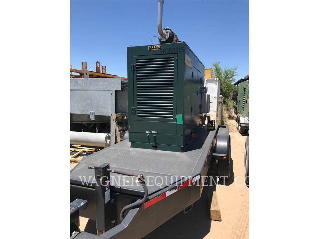 Arrow VRG380TA, mobile generator sets, Construction