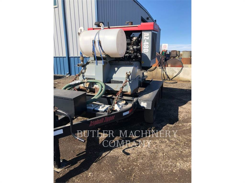 Asphalt Zipper AZ-480S, Asphalt cold milling machines, Construction