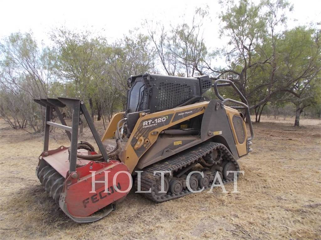 ASV RT120F, track loaders, Construction