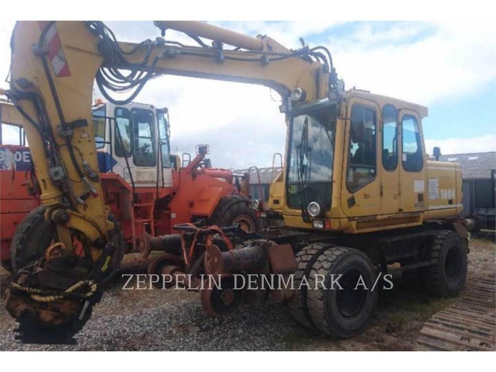 Atlas 1604 ZW, Excavadoras de cadenas, Construcción