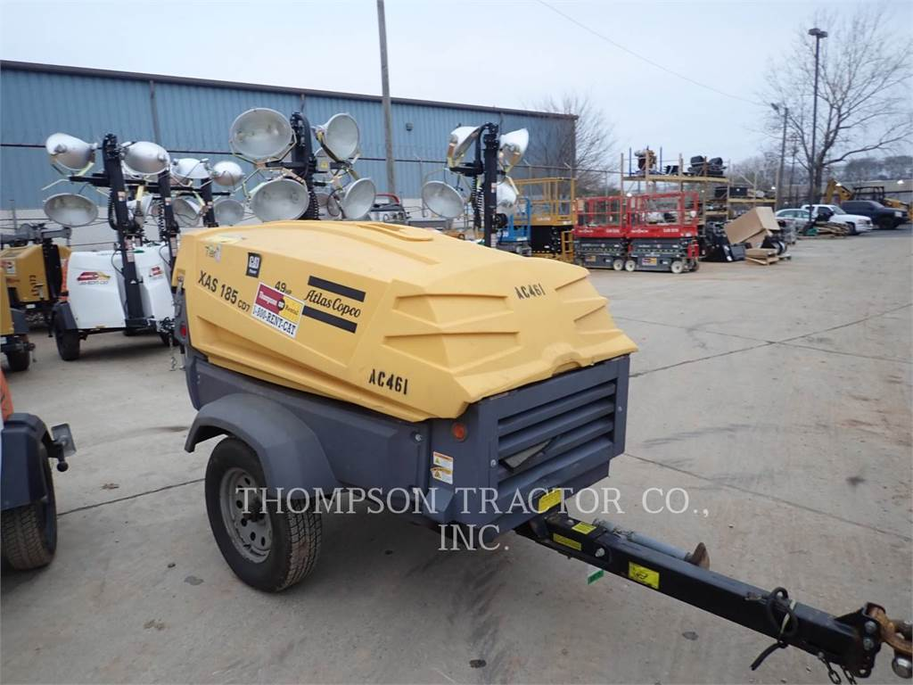 Atlas 185CF1, Compressed Air, Construction