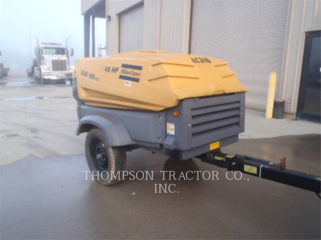 Atlas 2014 ATLAS COPCO 185 CFM, Compressed Air, Construction