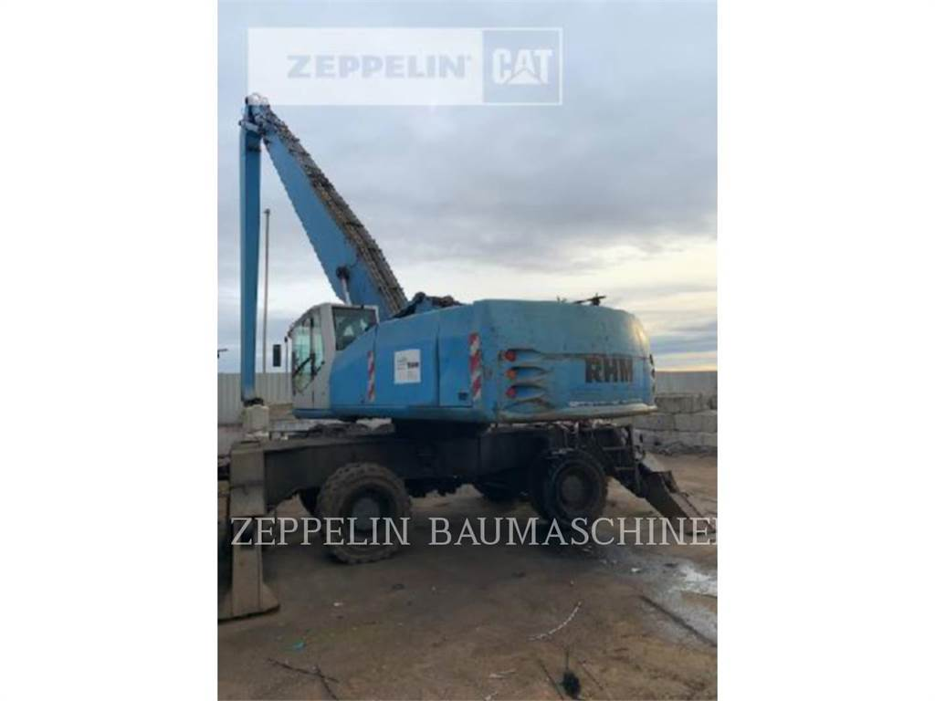 Atlas 5005MI, wheel excavator, Construction