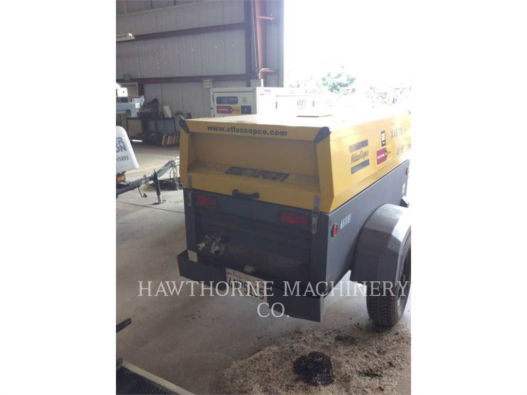 Atlas Copco 185 XAS, Compressed Air, Construction