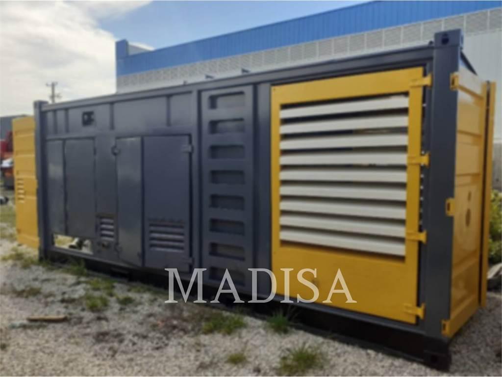Atlas Copco QAC1250, Stationary Generator Sets, Construction