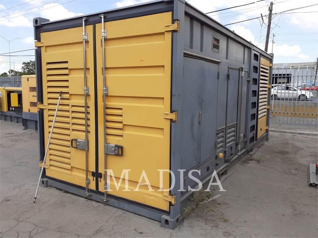 Atlas Copco QAC1250, mobile generator sets, Construction