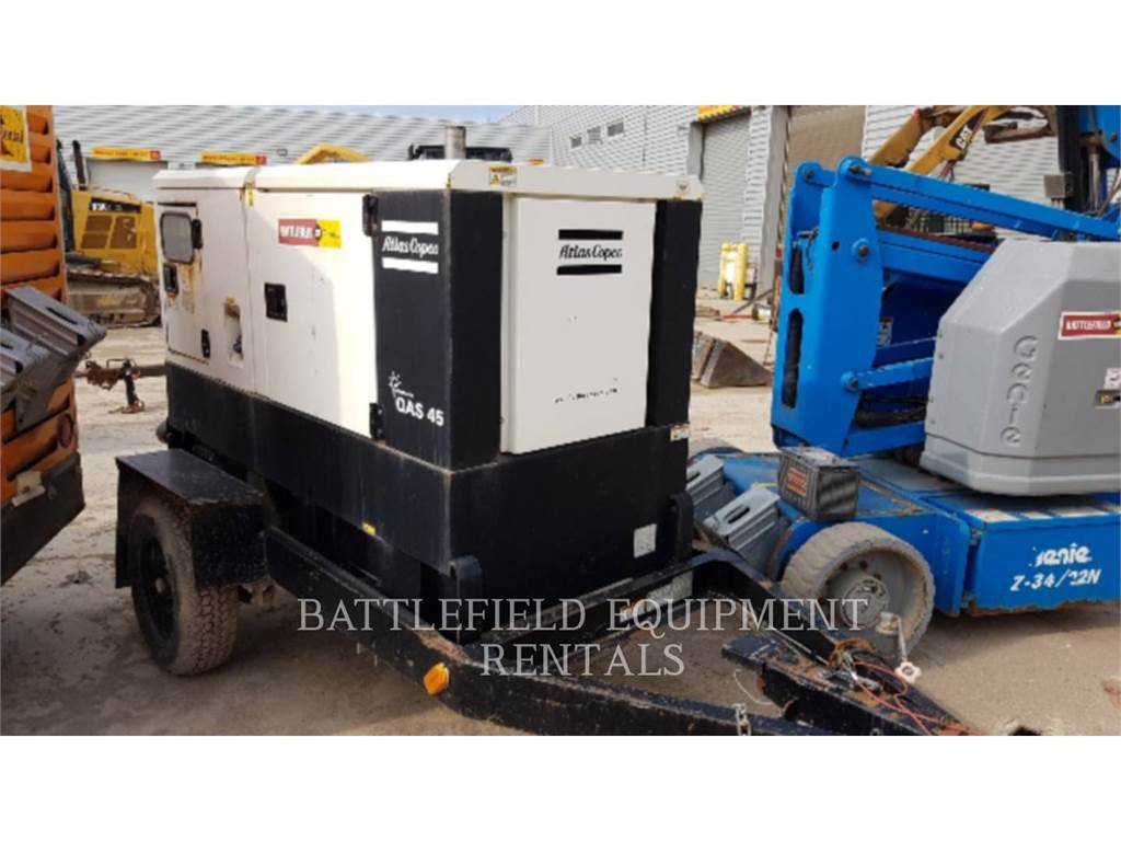 Atlas Copco QAS 45, Stationary Generator Sets, Construction