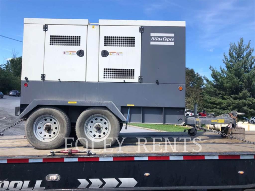 Atlas Copco QAS 95, mobile generator sets, Construction