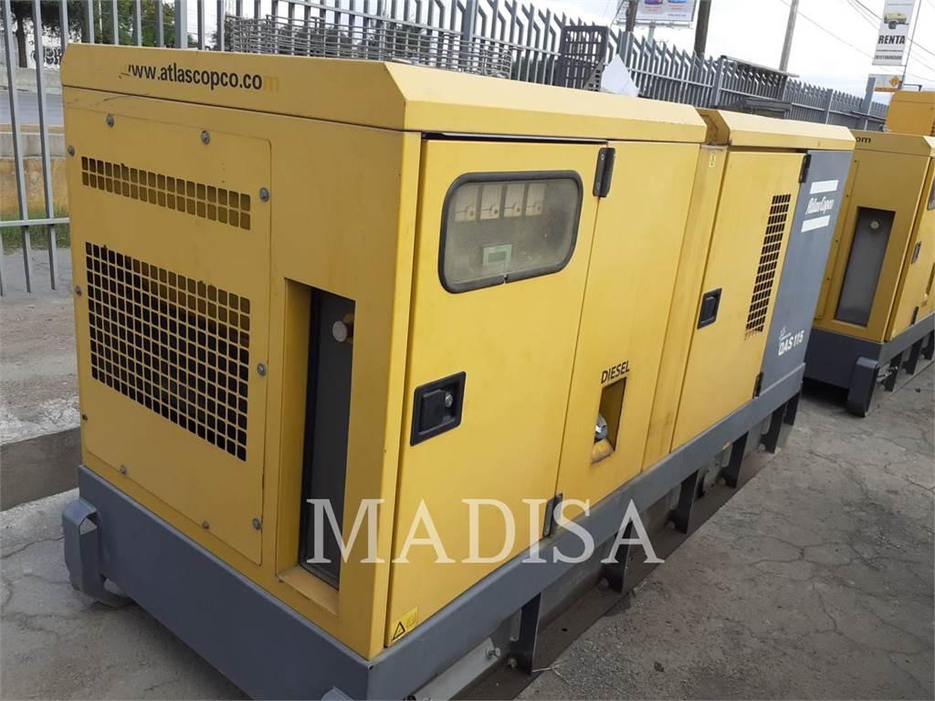 Atlas Copco QAS115, mobile generator sets, Construction