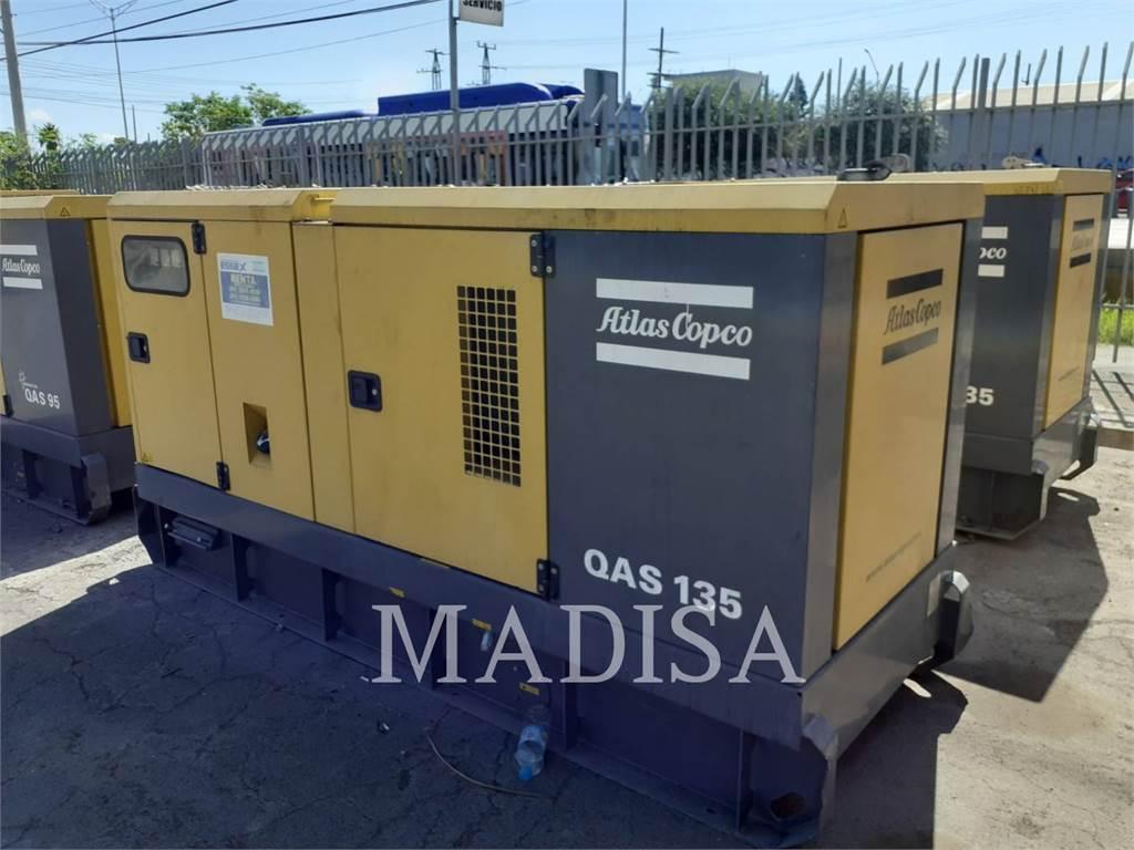 Atlas Copco QAS135, mobile generator sets, Construction