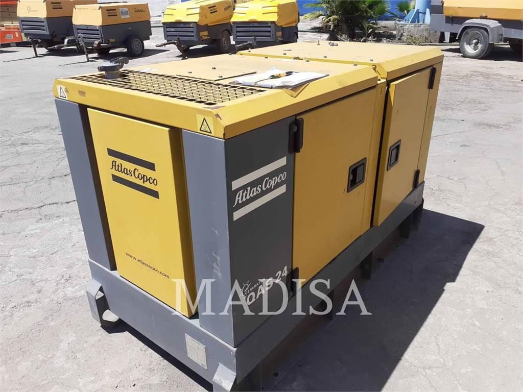 Atlas Copco QAS24, Stationary Generator Sets, Construction