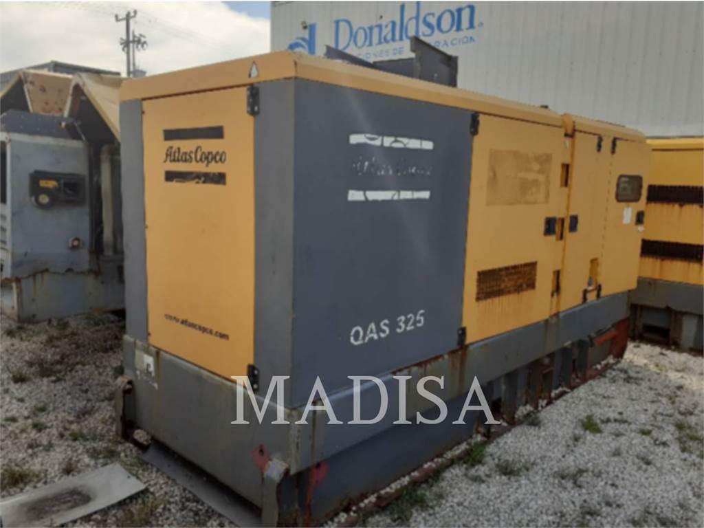 Atlas Copco QAS325, Stationary Generator Sets, Construction