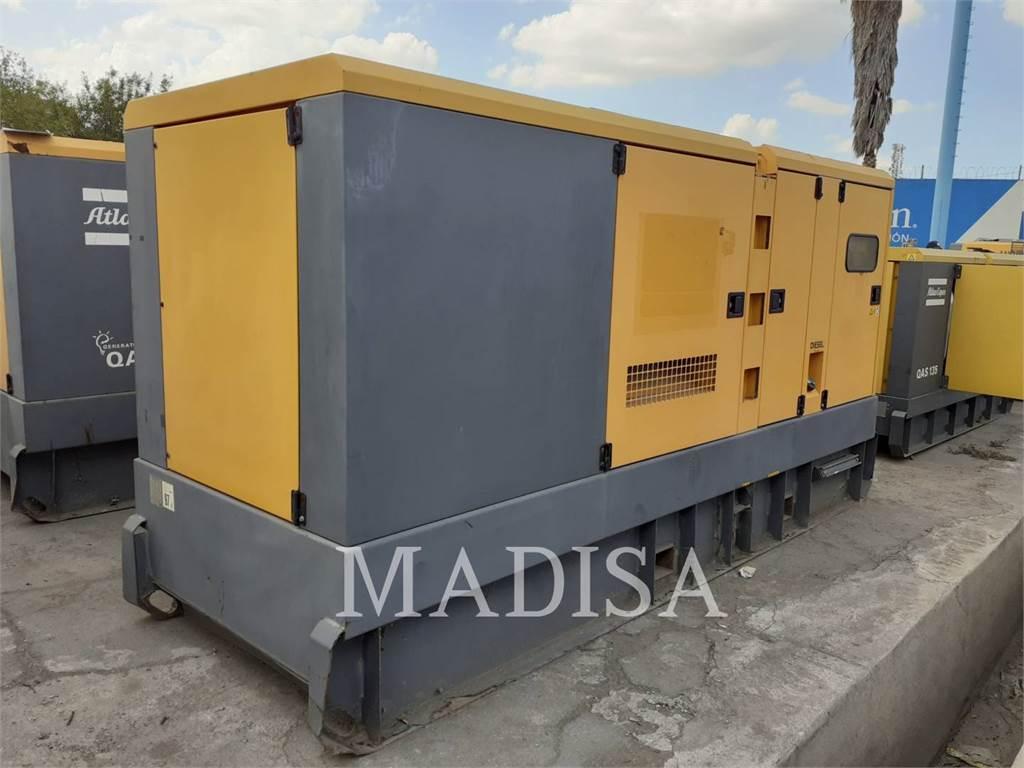 Atlas Copco QAS325, mobile generator sets, Construction