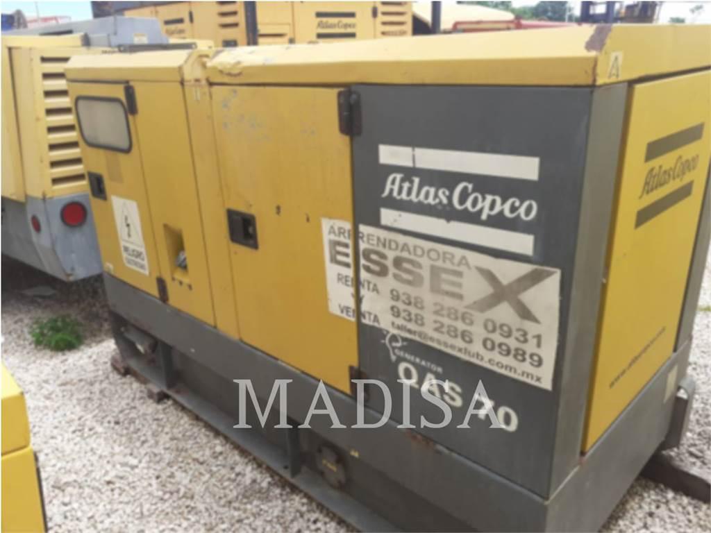 Atlas Copco QAS70, Stationary Generator Sets, Construction