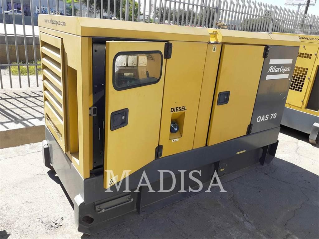 Atlas Copco QAS70 CUD, Stationary Generator Sets, Construction