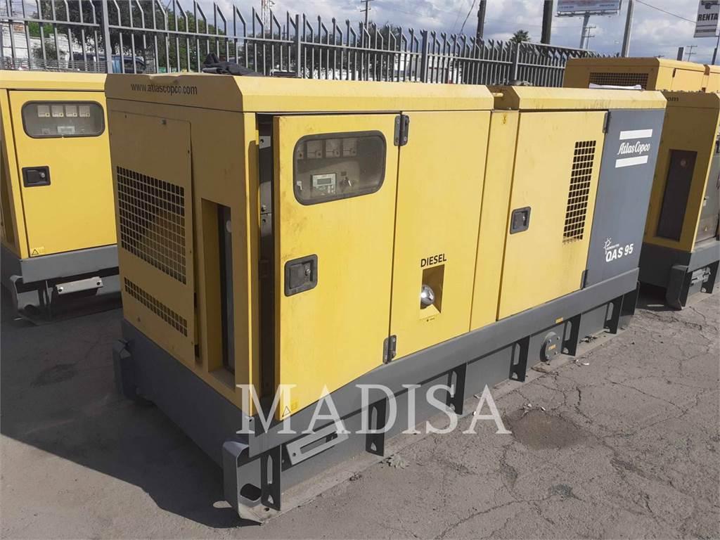 Atlas Copco QAS95, Stationary Generator Sets, Construction