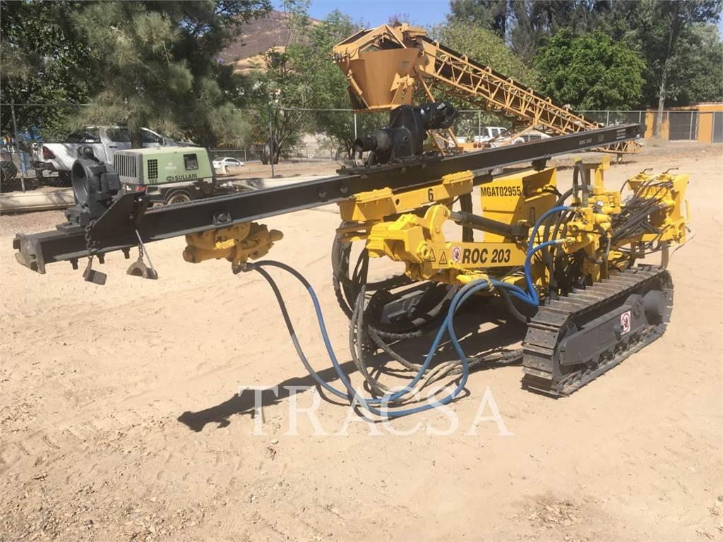 Atlas Copco ROC203, Heavy Drills, Construction