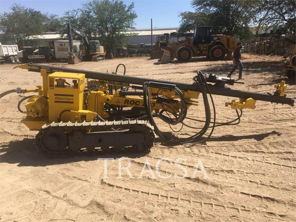 Atlas Copco ROC203, Surface drill rigs, Construction