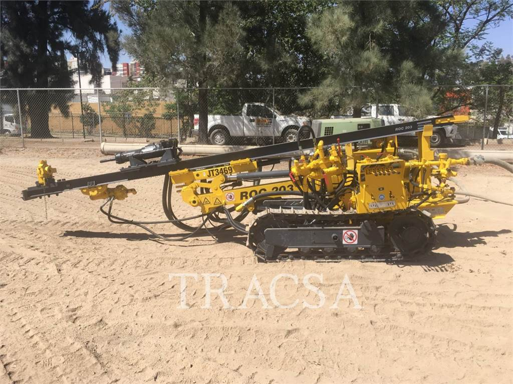 Atlas Copco ROC203, Heavy Drills, Construction