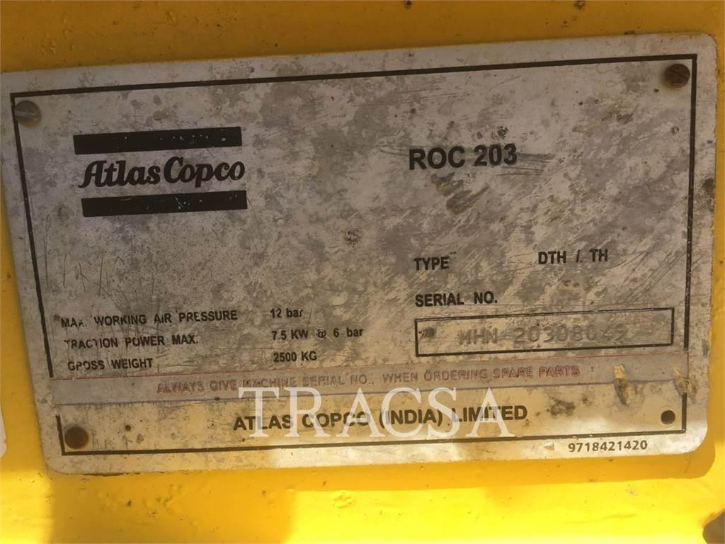 Atlas Copco ROC203, Foreuse, Équipement De Construction