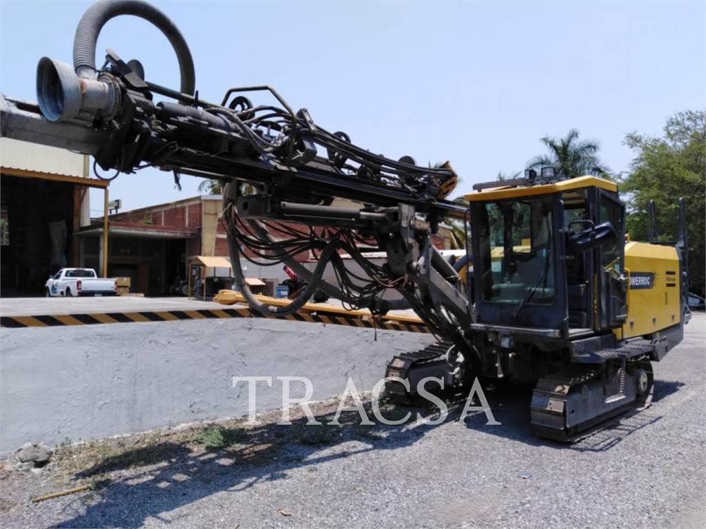 Atlas Copco ROCT25, Perforadoras, Construcción