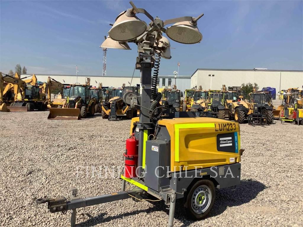 Atlas Copco V4W, leichter turm, Bau-Und Bergbauausrüstung