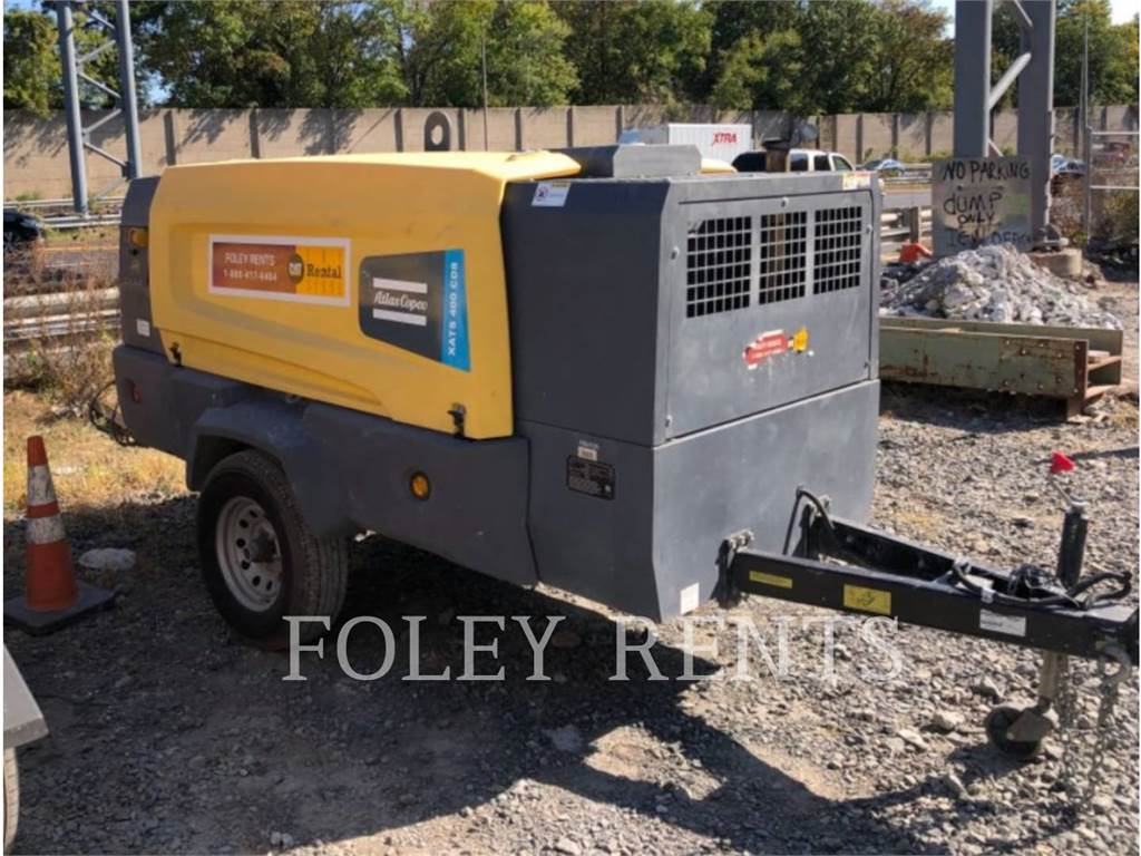 Atlas Copco XATS400, Compressed Air, Construction