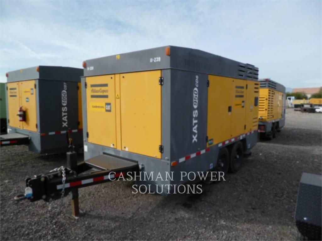 Atlas Copco XATS950CD6, luchtcompressor, Bouw