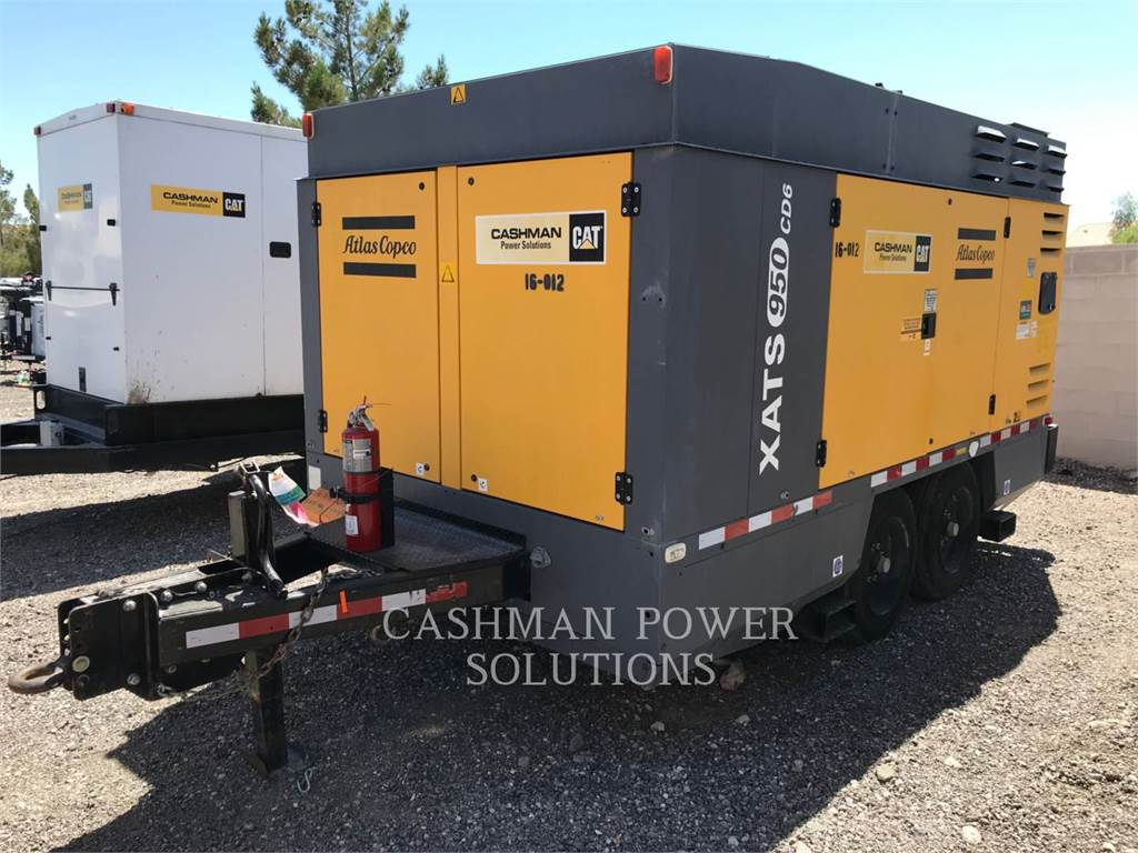Atlas Copco XATS950CD6, Compressed Air, Construction