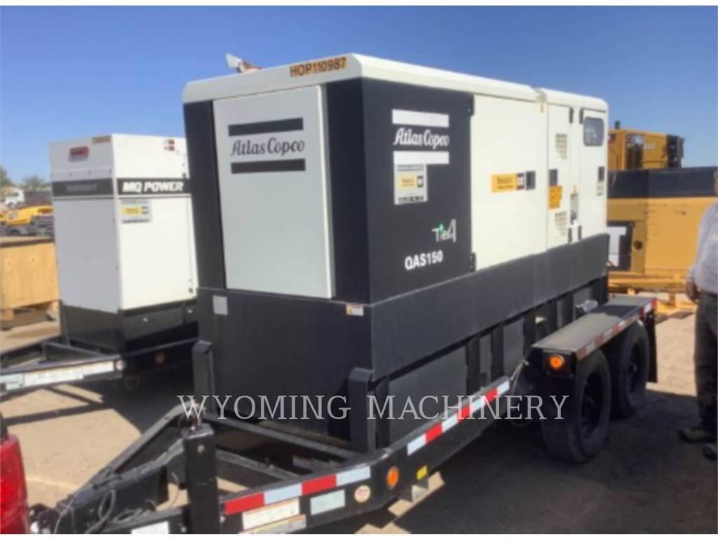 Atlas QAS150, Stationary Generator Sets, Construction