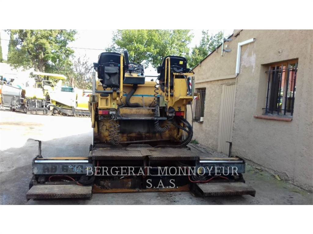 Bitelli BB632, Asphalt pavers, Construction