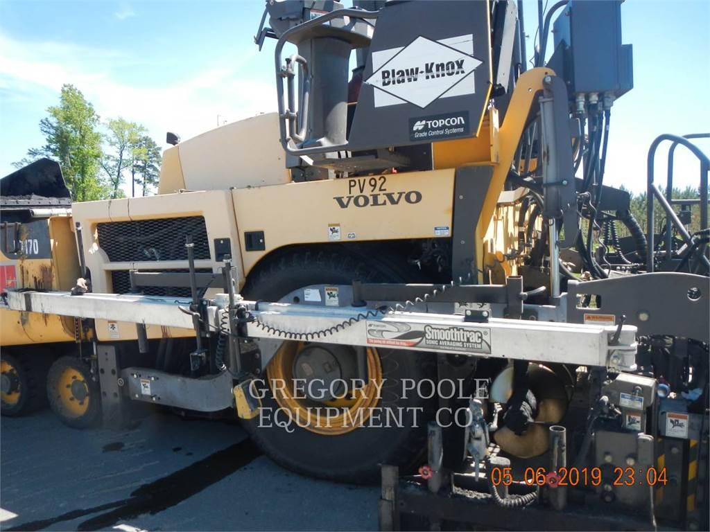Blaw-Knox P7170, Asfaltadoras, Construcción