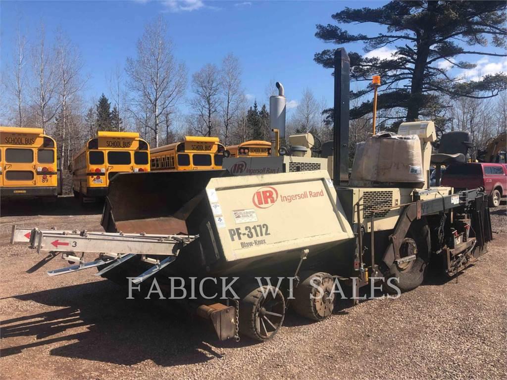 Blaw-Knox PF-3172, Pavatoare asfalt, Constructii