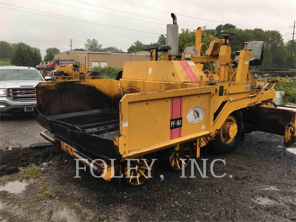 Blaw-Knox PF161, Rozściełacze do asfaltu, Sprzęt budowlany